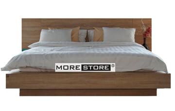 Picture of Giường ngủ gỗ laminate vân tần bì kiểu Nhật