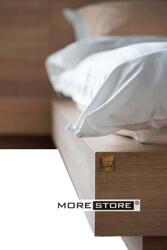 Ảnh của Giường ngủ gỗ laminate vân tần bì kiểu Nhật