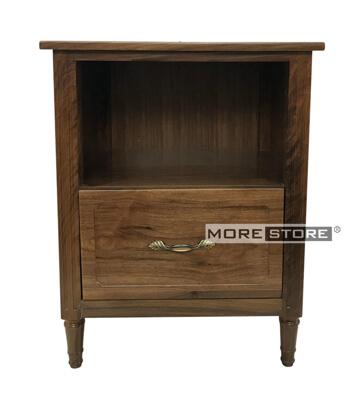 Picture of Tủ đầu giường gỗ óc chó cao cấp 2 ngăn