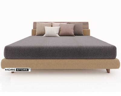 Ảnh của Giường ngủ bọc vải đầu giường cong