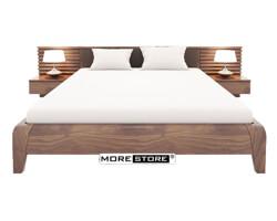 Picture of Giường ngủ hiện đại gỗ tự nhiên