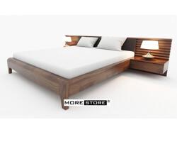 Ảnh của Giường ngủ hiện đại gỗ tự nhiên
