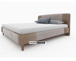 Ảnh của Giường ngủ gỗ tần bì hiện đại phối nỉ sang trọng