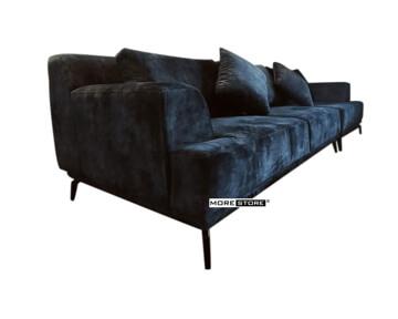 Picture of Sofa bành hiện đại bọc nỉ chân sắt