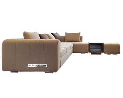 Ảnh của Sofa chữ L cao cấp bọc vải