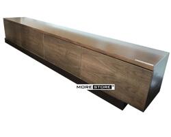 Picture of Kệ tivi gỗ veneer óc chó hiện đại