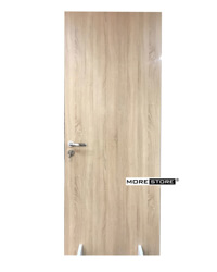 Ảnh của Cửa gỗ hiện đại gỗ dán laminate nâu cánh gián