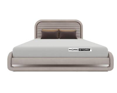 Picture of Giường ngủ tân cổ điển dịu dàng đầu giường bọc nỉ