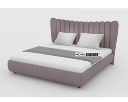 Picture of Giường ngủ bọc nỉ đầu giường cách điệu