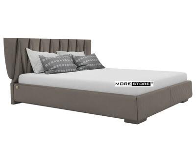Picture of Giường ngủ bọc da đầu giường cách điệu sang trọng