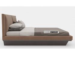 Picture of Giường ngủ hiện đại bọc nỉ (kèm tap)