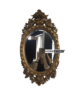 Picture of Gương cổ điển hình Elip cốt Bỉ