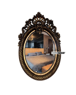 Picture of Gương cổ điển Elip nghệ thuật