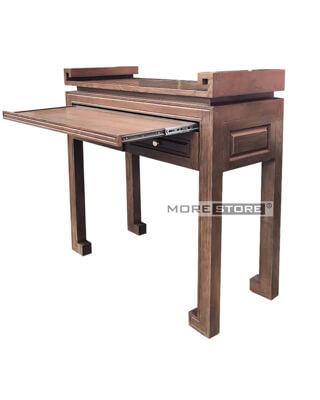 Ảnh của Tủ thờ đứng gỗ tần bì 2 ngăn kéo đựng