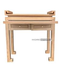 Picture of Tủ thờ đứng gỗ tần bì 2 ngăn kéo đựng