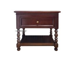 Picture of Tủ kệ trang trí phòng khách gỗ tự nhiên tân cổ điển