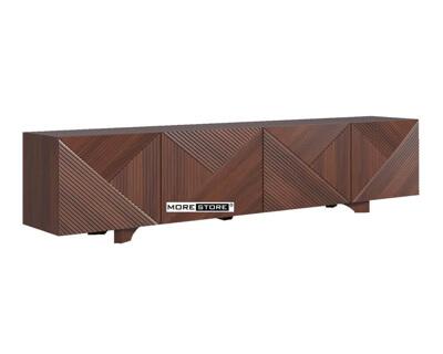 Picture of Mẫu kệ ti vi gỗ màu nâu sang trọng và tinh tế