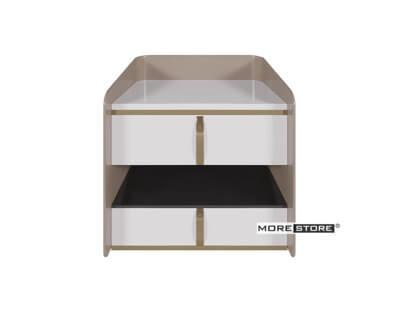 Picture of Mẫu tủ đầu giường đơn giản chất liệu gỗ công nghiệp