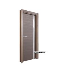 Picture of Mẫu cửa gỗ hiện đại nẹp nhôm trang trí