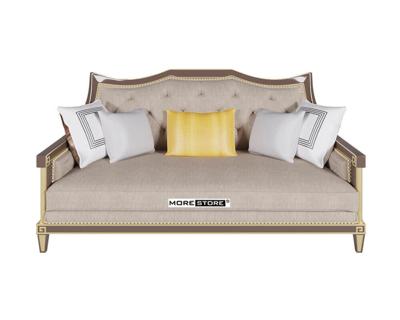 Picture of Mẫu ghế sofa phòng khách màu xám ấn tượng