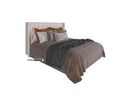 Ảnh của Giường ngủ đẹp hiện đại bọc da đầy ấn tượng