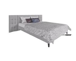 Ảnh của Giường ngủ hiện đại bọc nỉ Acacia nhập khẩu cao cấp