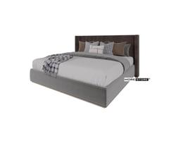 Picture of Mẫu giường ngủ gỗ công nghiệp bọc nỉ nhung sang trọng