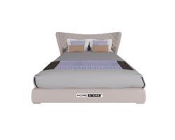 Picture of Giường bọc da cao cấp với phần đầu giường ấn tượng