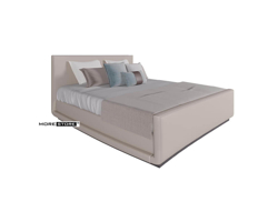 Picture of Mẫu giường ngủ hiện đại bọc da thiết kế tinh tế