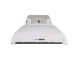 Picture of Giường ngủ hiện đại đầu giường bọc nỉ cách điệu
