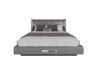 Picture of Mẫu giường ngủ bọc da màu xám sang trọng cho phòng ngủ