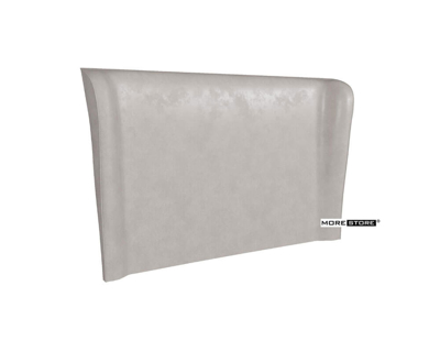 Picture of Mẫu đầu giường bọc nệm cao cấp màu trắng sữa