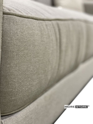 Ảnh của Mẫu sofa bọc vải màu xám phong cách hiện đại
