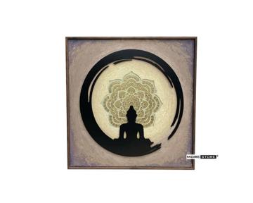 Picture of Tranh phật gỗ điêu khắc dát vàng sang trọng, đẳng cấp