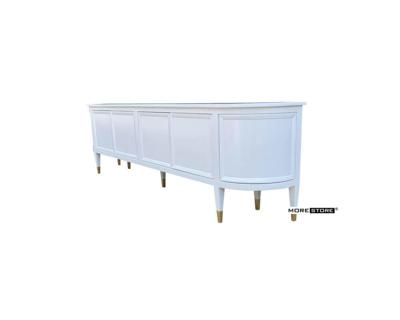 Picture of Mẫu kệ tủ ti vi hiện đại phun sơn màu trắng cao cấp