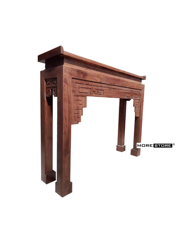 Picture of Mẫu bàn thờ gỗ cao cấp kết hợp ghế đôn trang trí (gồm 1 bàn thờ và 2 đôn)
