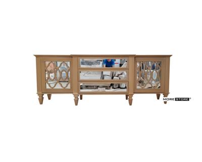 Picture of Kệ ti vi gỗ tân cổ điển với phần chân cách điệu sang trọng