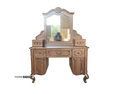 Picture of Mẫu bàn phấn trang điểm gỗ óc chó đầy sang trọng