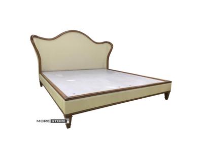 Ảnh của Giường ngủ gỗ tự nhiên nhập khẩu bọc da cao cấp