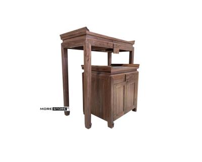Picture of Mẫu tủ thờ gỗ óc chó tự nhiên nhập khẩu cao cấp