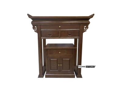Ảnh của Mẫu tủ thờ gỗ tần bì cao cấp màu nâu sang trọng