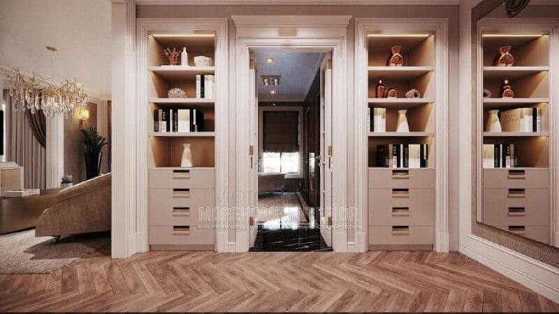 Thiết kế nội thất chung cư đầy đủ tiện nghi