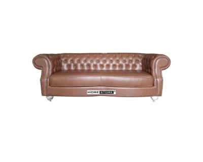Picture of Mẫu sofa gỗ tự nhiên bọc da nhập khẩu cao cấp