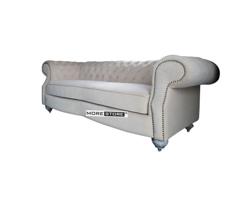 Picture of Ghế sofa phòng khách bọc nỉ cao cấp tân cổ điển