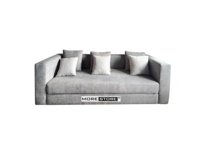 Ảnh của Mẫu sofa phòng khách bọc nỉ xám sang trong và tinh tế