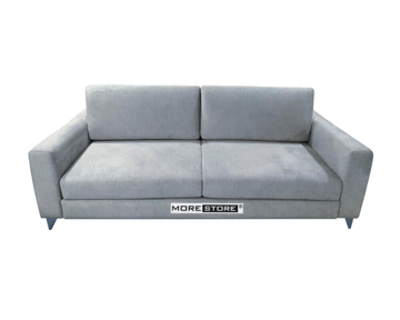 Picture of Ghế sofa văng bọc nỉ xám phong cách hiện đại