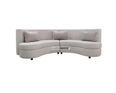 Picture of Ghế sofa tròn bọc vải cách điệu MSF-00023