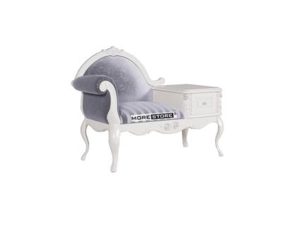 Picture of Mẫu ghế sofa đơn kết hợp tủ kệ đa năng cao cấp