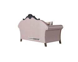 Picture of Ghế sofa văng đôi bọc da phong cách tân cổ điển