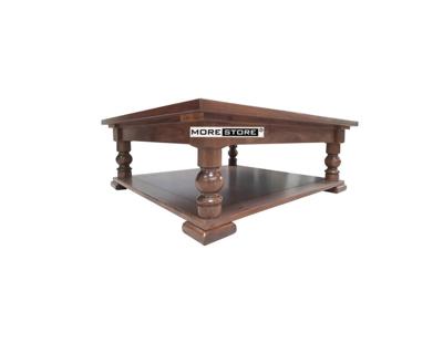 Picture of Mẫu bàn trà tân cổ điển ấn tượng với gỗ óc chó màu nâu sang trọng